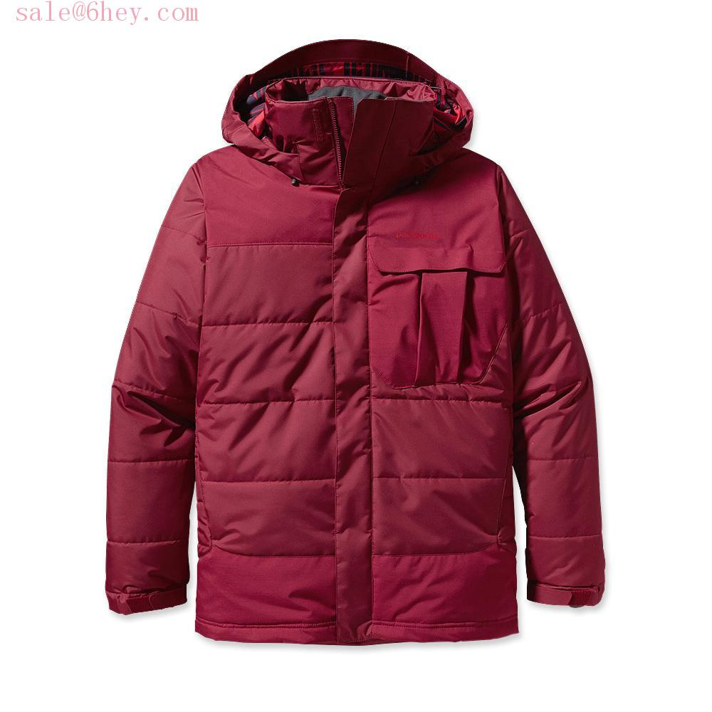 patagonia torrentshell jacket red
